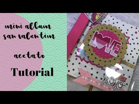Min lbum love de acetat para san valent n s per facil - Album para san valentin ...