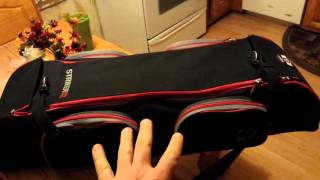 """A quick """"one handed"""" review of the Striker Ice Transporter rod locker."""