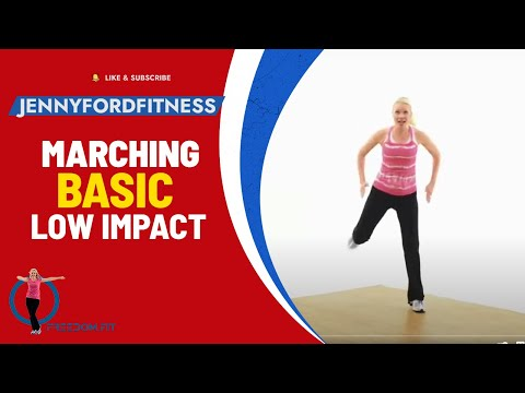 Marching with Moves – Aerobic Workout
