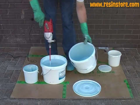 How to apply Epoxy Resin Flooring - Reactive Resins, UK