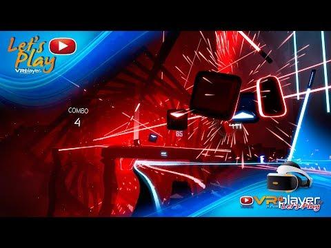 Let's Play BEAT SABER ONE HOPE DLC PlayStation VR PSVR