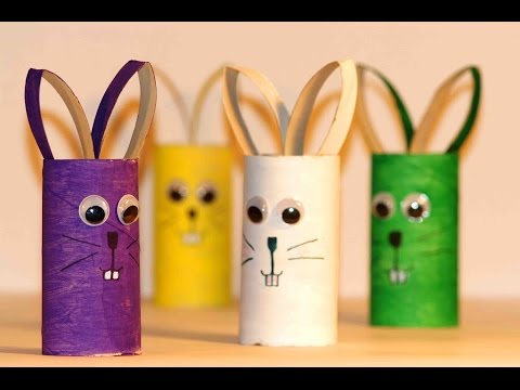 Поделки из картона и бумаги для детей