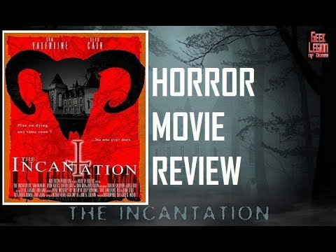 THE INCANTATION ( 2018 Dean Cain ) Occult Devil Worship Horror Movie Review