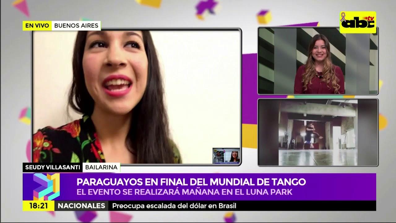 Paraguayos llegan a final del Mundial de Tango