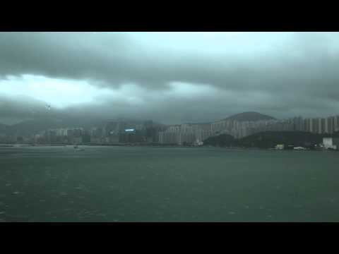 VIDEO: Timelapse footage of Typhoon Vicente hitting Hong Kong