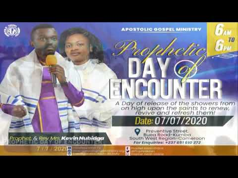 PROPHETIC DAY OF ENCOUNTER 7/72020