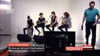 Video The Paranoid - Zachráň ma (akustická) - TV JOJ