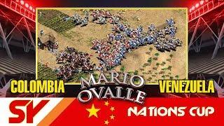 LA ELITE DE COLOMBIA VS LA ELITE DE VENEZUELA, LOS MEJORES DE SUS PAISES CARA CARA EN LA SY NATION CUP DONACION, SI TE DIVIERTE Y LA PASAS BIEN CON LO QUE HAGO PUEDES APOYARME AQUI ( https://www.paypal.me/apoyaralcanalmario )FANPAGEhttps://www.facebook.com/Mario-Ovalle-1200082810100030/grupo de Facebook: https://www.facebook.com/groups/AgeOfempiresvoobly/?ref=bookmarks únanse al grupo gente a toda hora mas videos y solución de problemasmi Facebook: https://www.facebook.com/profile.php?id=100010532173890 pueden consultar y hablar con migo además de estar enterados de todo que sucede nuevos videos encuestas y demás