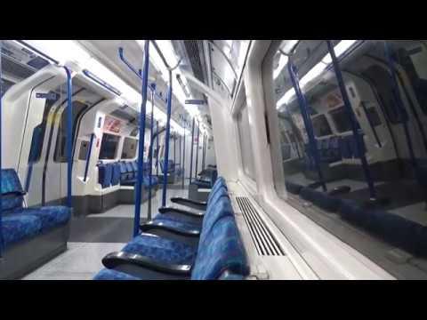 Full Journey on the Northern Line Edgware to Morden via Charing Cross (видео)