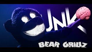 Bear Grillz - Brain On Dubstep (Music Video)