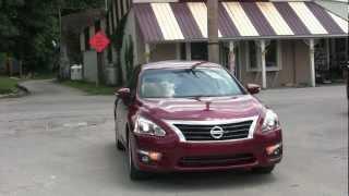 Real World Test Drive 2013 Nissan Altima