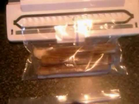 vacuum sealer how to use normal freezer bags