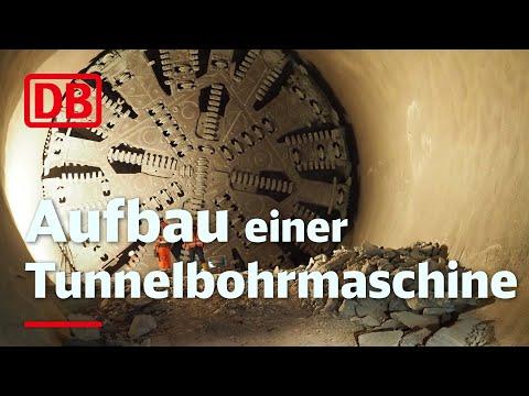 2014 | Aufbau der Tunnelbohrmaschine | Aichelberg: Boßlertunnel