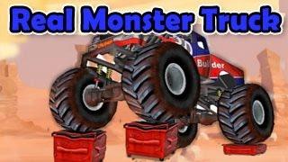Real Monster Truck Level1-3 Walkthrough