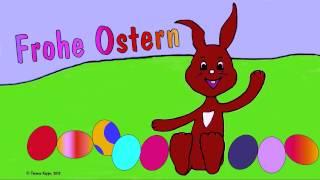 Ostergruß Zum Ostereierfest, Kinderlied Zur Osterzeit, Lieber Osterhase, Frohe Ostern, Thomas Koppe