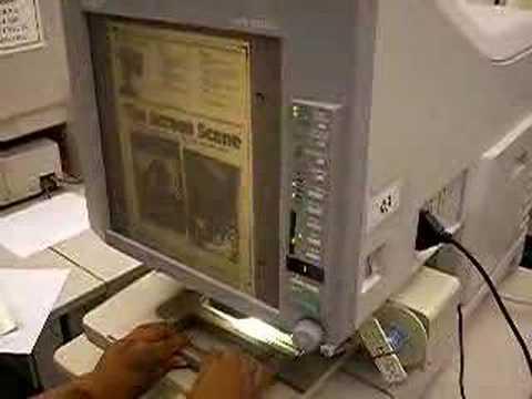 Utilizare scanner microfilme MS 6000 MK II