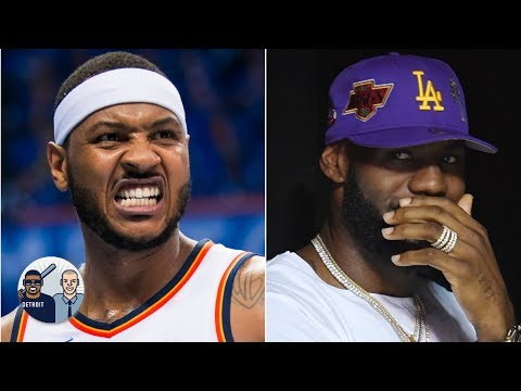 Video: Royce White calls out LeBron, says Carmelo Anthony is being 'blackballed' | Jalen & Jacoby