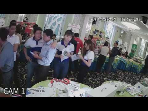 Demo camera Hội chợ doanh nghiệp Q. Tân Phú, TP. HCM P.1