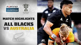 Australia v New Zealand Rd.2 2021 Rugby Championship video highlights