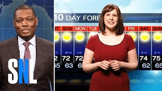 Dawn Lazarus (Vanessa Bayer) returns to share the weather report for Memorial Day weekend.Get more SNL: http://www.nbc.com/saturday-night-liveFull Episodes: http://www.nbc.com/saturday-night-liv...Like SNL: https://www.facebook.com/snlFollow SNL: https://twitter.com/nbcsnlSNL Tumblr: http://nbcsnl.tumblr.com/SNL Instagram: http://instagram.com/nbcsnl SNL Pinterest: http://www.pinterest.com/nbcsnl/