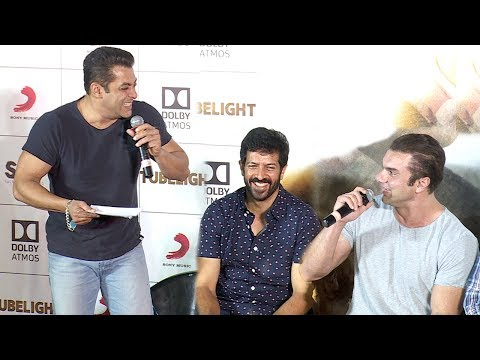 Tubelight Trailer Launch Full Video HD - Salman Khan,Sohail Khan,Kabir Khan,Pritam