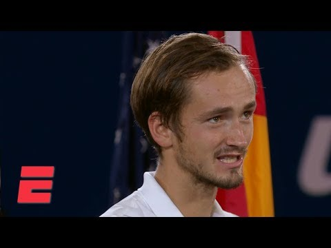 Daniil Medvedev credits the crowd after loss to Rafael Nadal | 2019 US Open Interviews