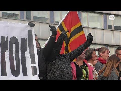 Chemnitz: Rechte zeigen Hitlergruß und skandieren r ...