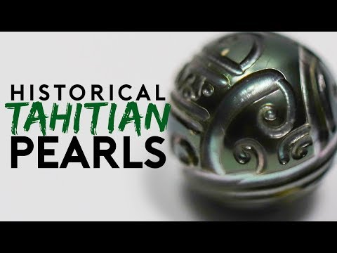 Historical Tahitian Pearls Unboxed