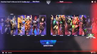 Na'Vi vs Kinguin - Road to Blizzcon - EU Qualifiers - Qualifiers Day 1
