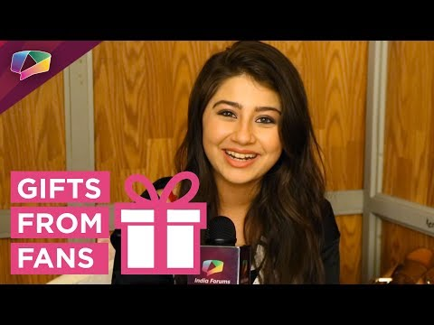 Aditi Bhatia Receives Gifts From Her Fans |