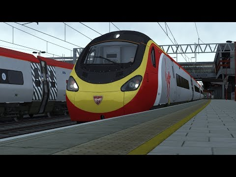 Train Simulator 2018: NEW DTG Class 390 FIRST LOOK!