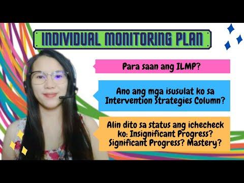 LDM2: SAGOT SA INDIVIDUAL LEARNING MONITORING PLAN PER COLUMN