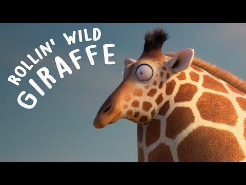 Rollin Wild Giraffes
