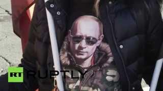 В Риме действия России в Сирии поддержали митингом