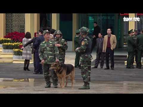 Hàng trăm chiến sĩ quân đội, công an được tăng cường tại ga Đồng Đăng - Thời lượng: 1:35.