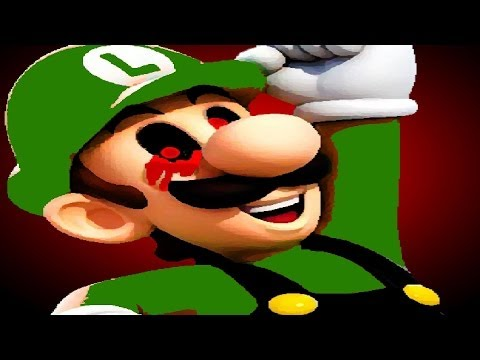 Luigi Game .EXE (1-END)   Indie Horror Moving On Up.. (+Download)