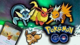 Pokemon Go Evolução do Eevee - Mais Segredos Com Gameplays by Pokémon GO Gameplay
