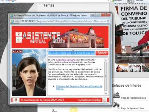 Video of Asistente Virtual Toluca