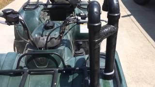 6. Snorkeled 2004 Yamaha Bruin 350 4x4