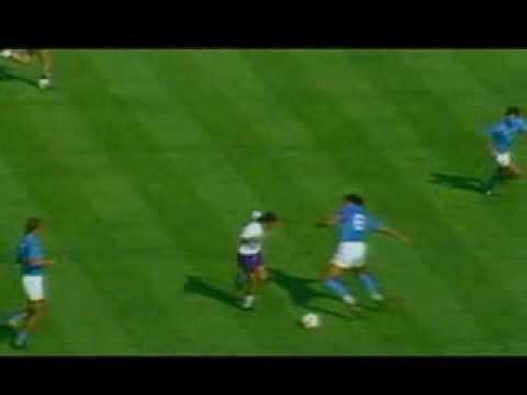 """""""goal show"""": roberto baggio, goal in napoli-fiorentina 1989-90!"""