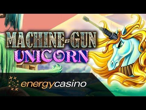 Machine Gun Unicorn - new slot game on EnergyCasino