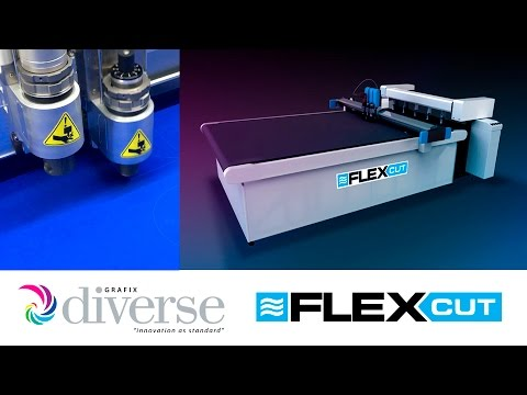 Diverse Grafix FlexCut: Shape cutting soft nylon fabric.