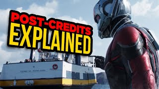 Video Ant-Man And The Wasp's TWO Post-Credits Scenes Explained MP3, 3GP, MP4, WEBM, AVI, FLV November 2018