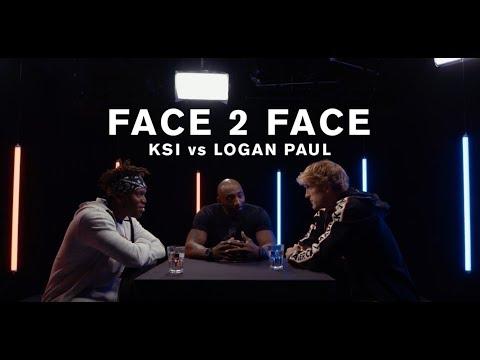 KSI vs. Logan Paul -  FACE 2 FACE (видео)