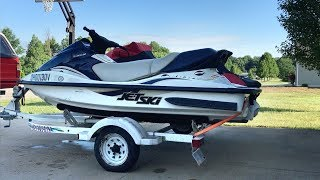 3. 2001 Kawasaki 1100 STX D.I. Jet Ski for sale