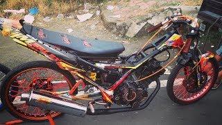 Video aksi satria fu std 155 tercepat indonesia,febri jenglot & joko precil dragbike kejurnas bsmc kebumen MP3, 3GP, MP4, WEBM, AVI, FLV Mei 2017