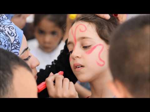 مجموعة خليل الرحمن الكشفية تشارك في نشاط بسمة عيد 2