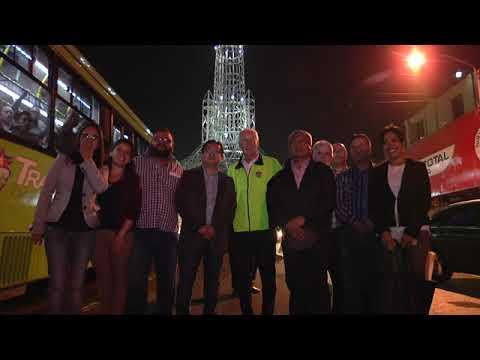 Torre del Reformador estrena nueva iluminación