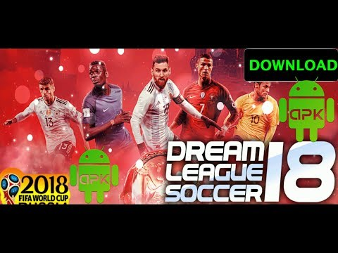 Free Dream League Soccer (DLS) Mod – FIFA World Cup Russia 2018 Edition (APK+OBB Data)