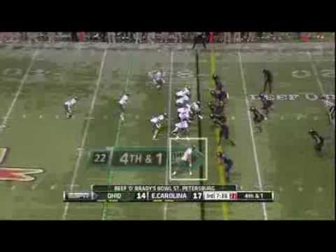 Donte Foster vs East Carolina 2013 video.